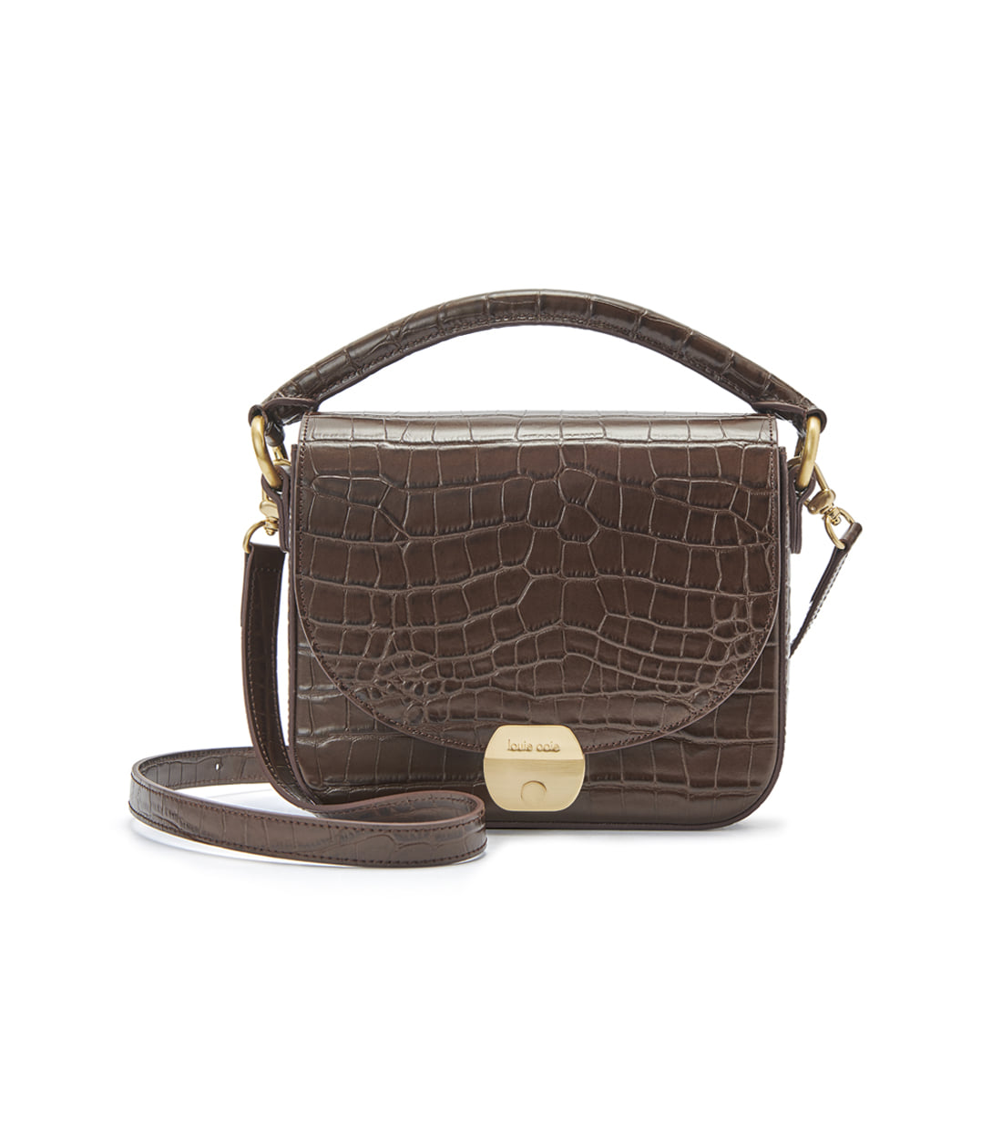 betty bag - brown embo [refurb 50%]