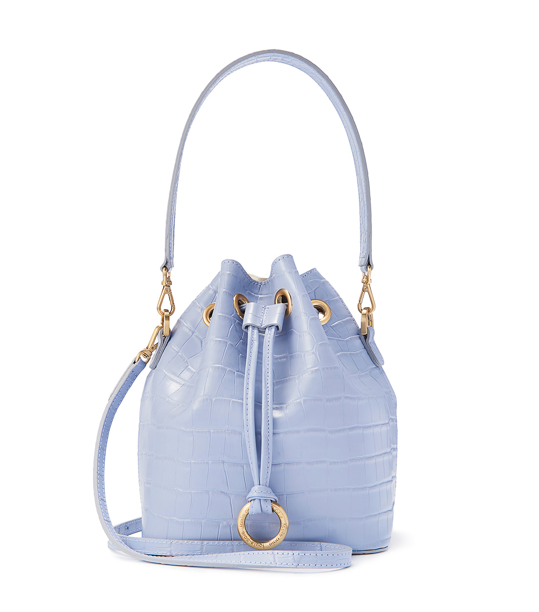 jane bag - airy blue embo [refurb 50%]