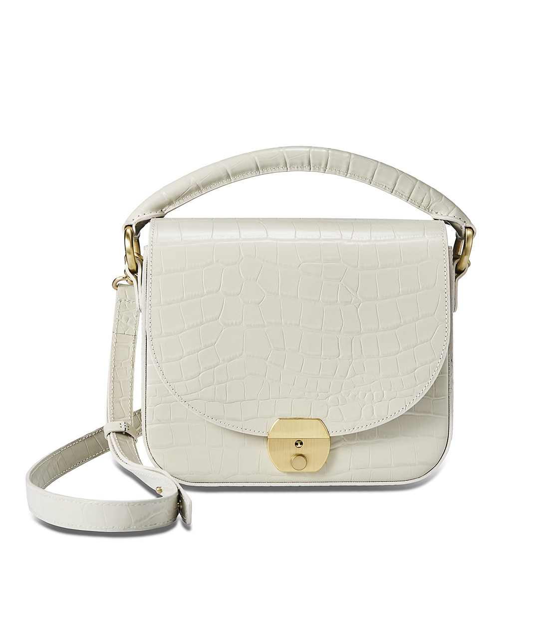 betty bag - oatmeal embo [refurb 50%]