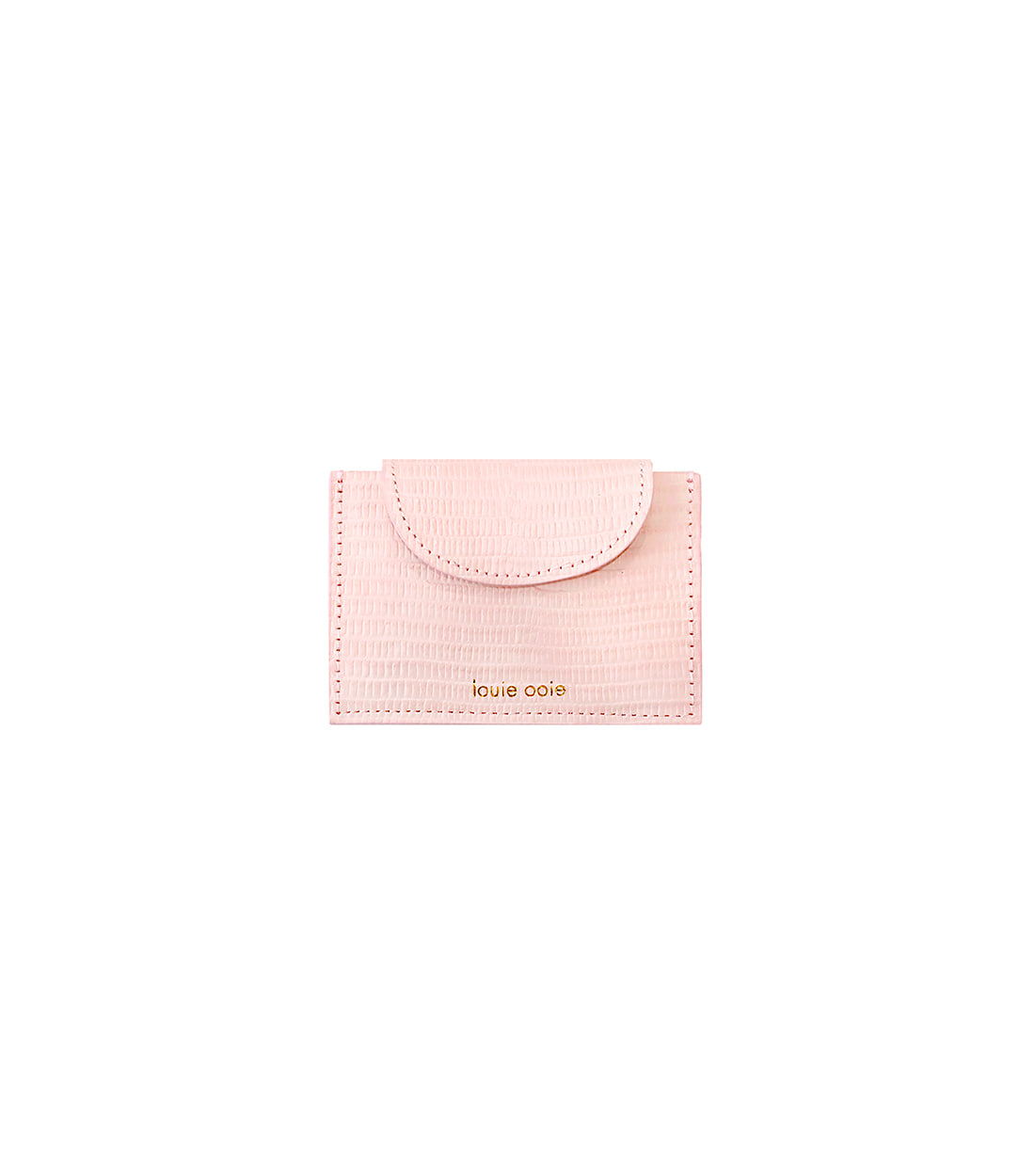 betty card wallet - pink embo
