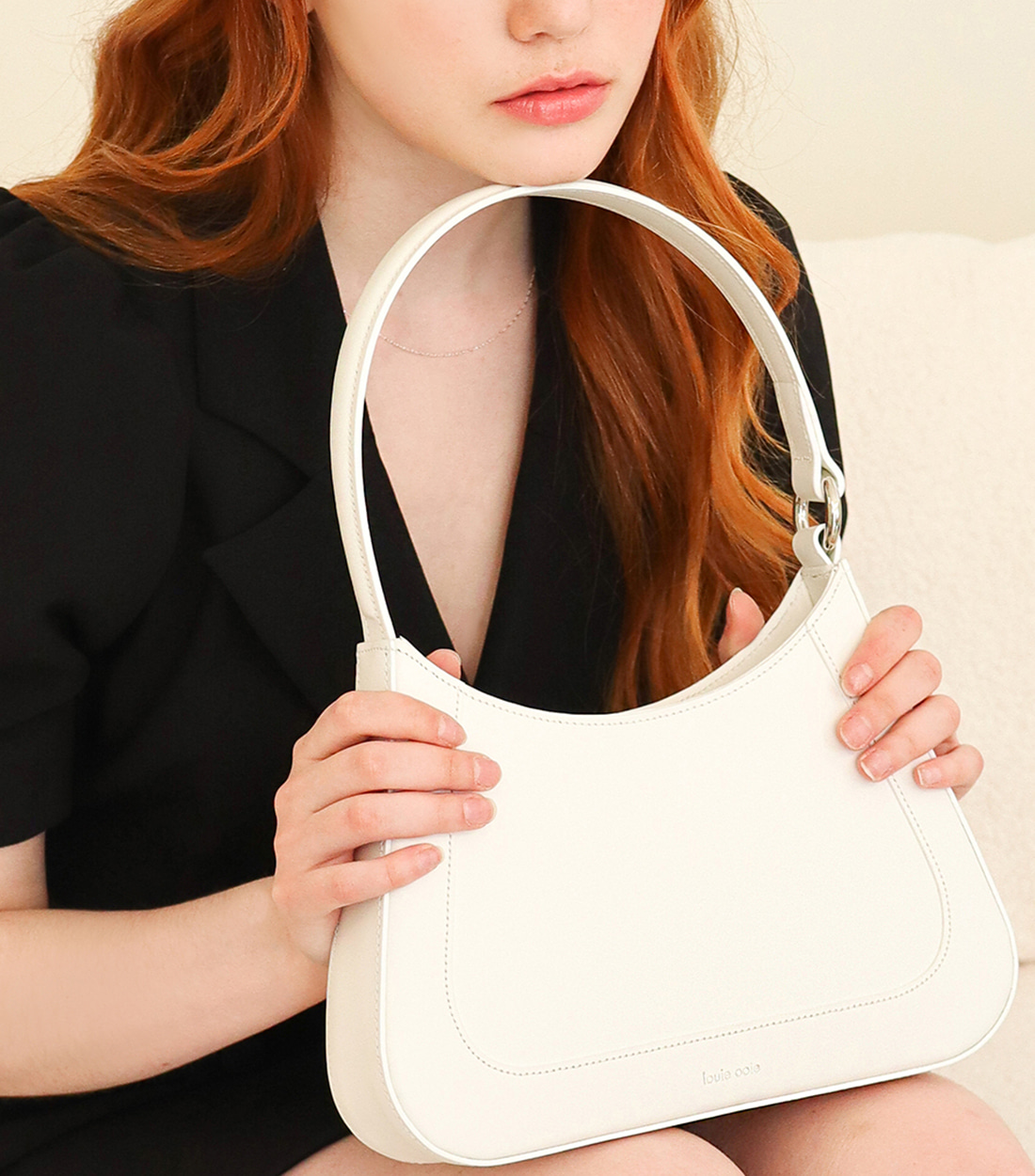 julie bag - white