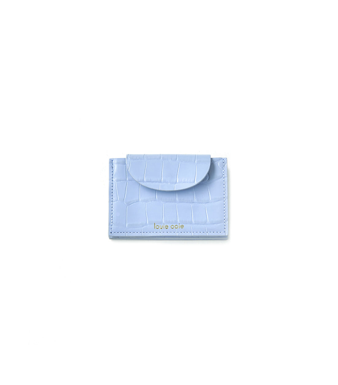 betty card wallet - airy blue embo