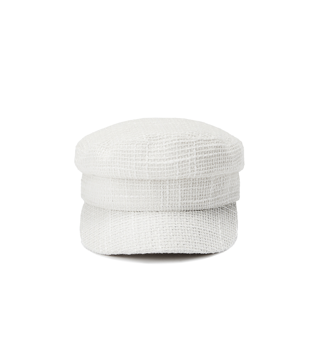 [트와이스 모모 착용] andy marine cap - tweed ivory
