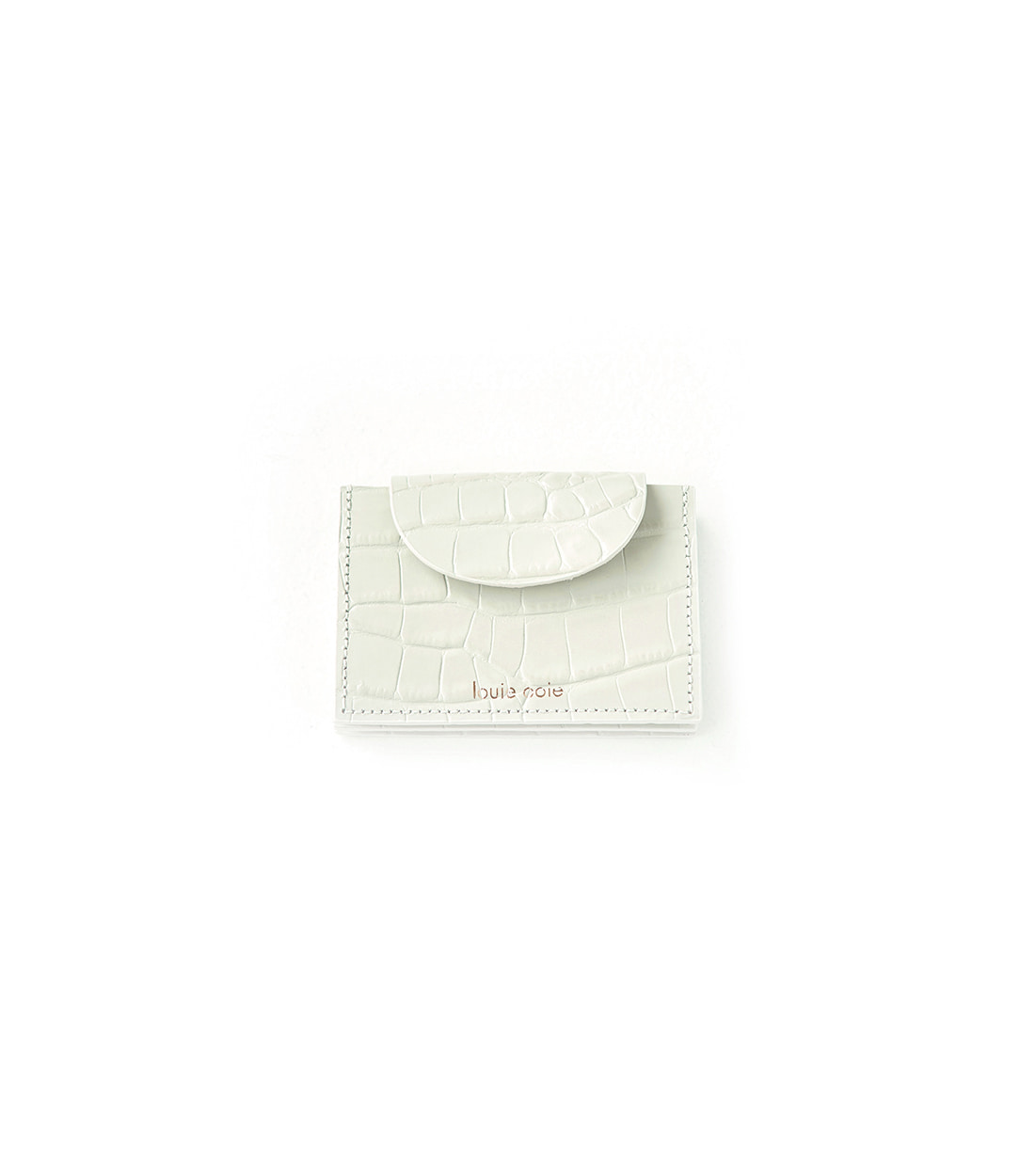 betty card wallet - oatmeal embo