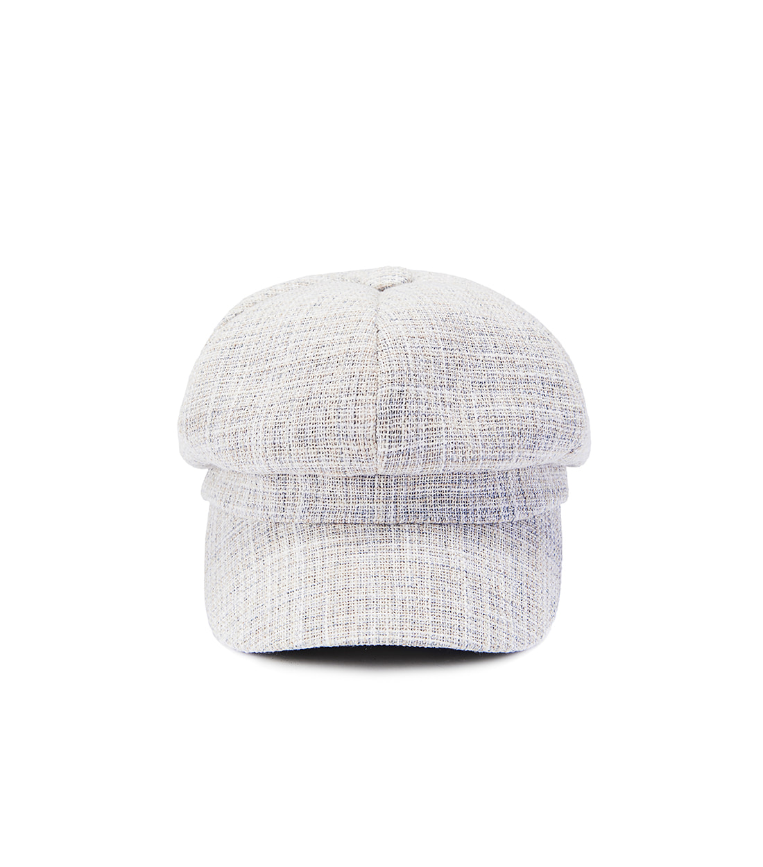 boni newsboy cap - mix light blue