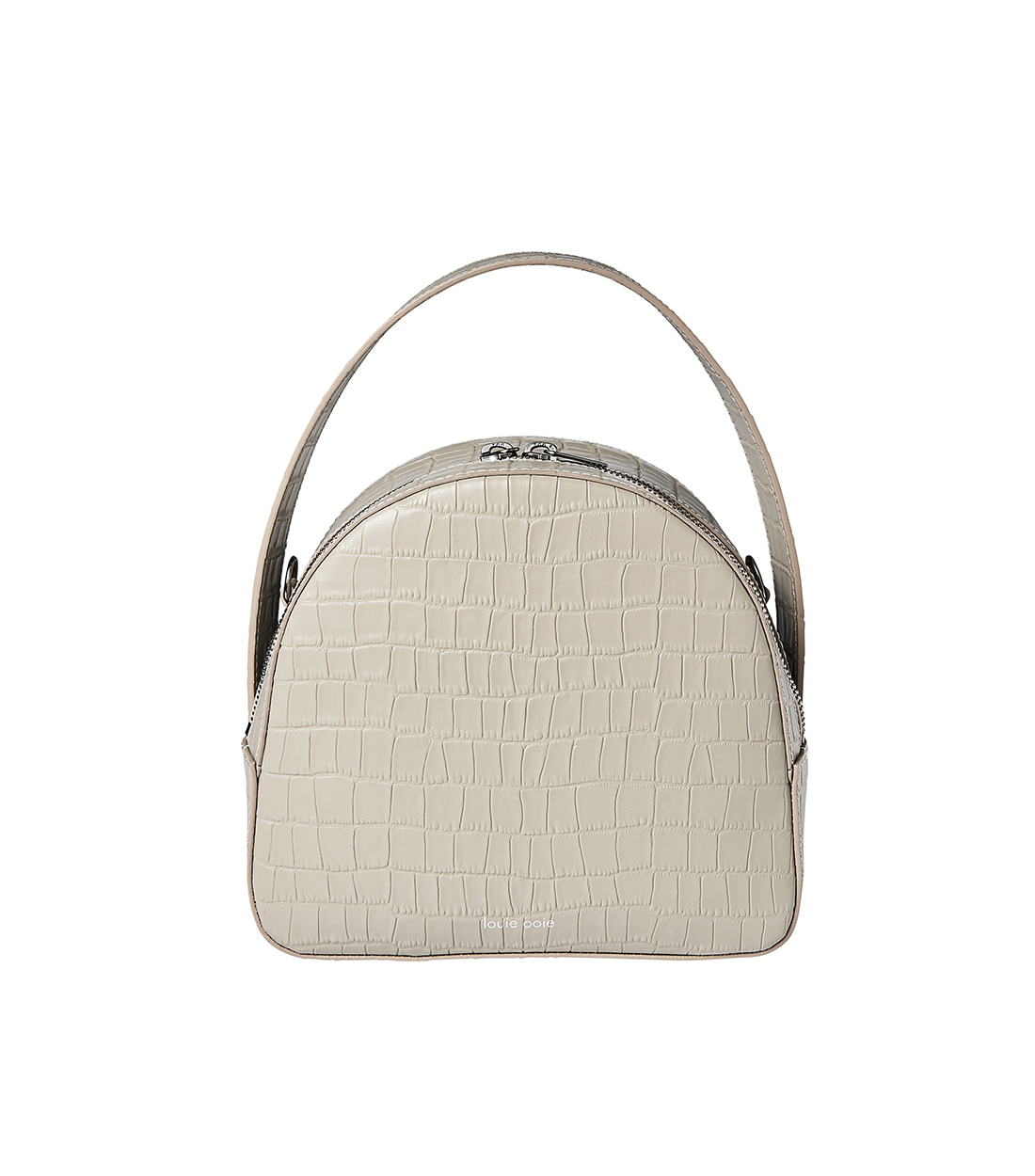 connee cross bag - beige embo