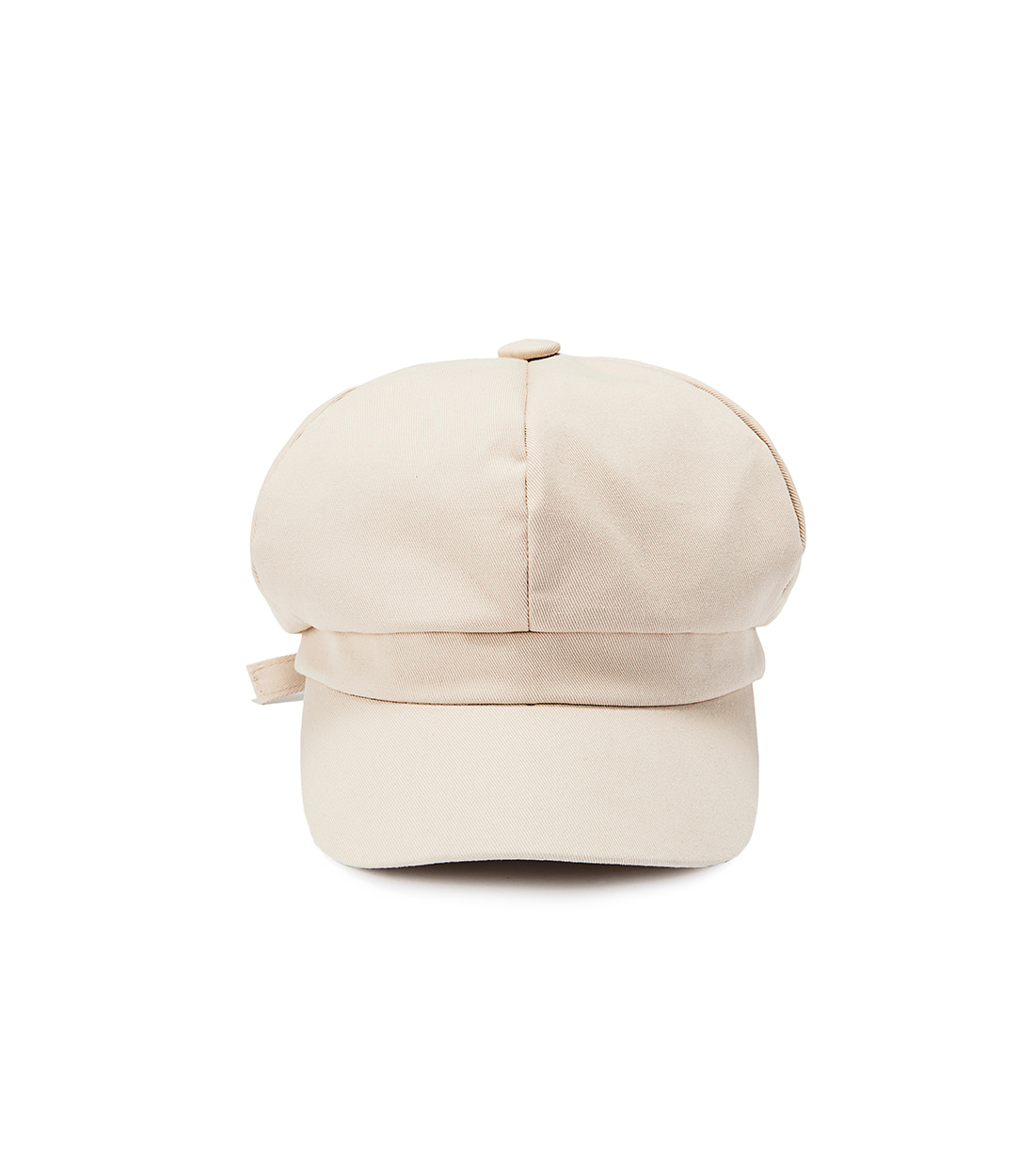 boni newsboy cap - cotton light beige