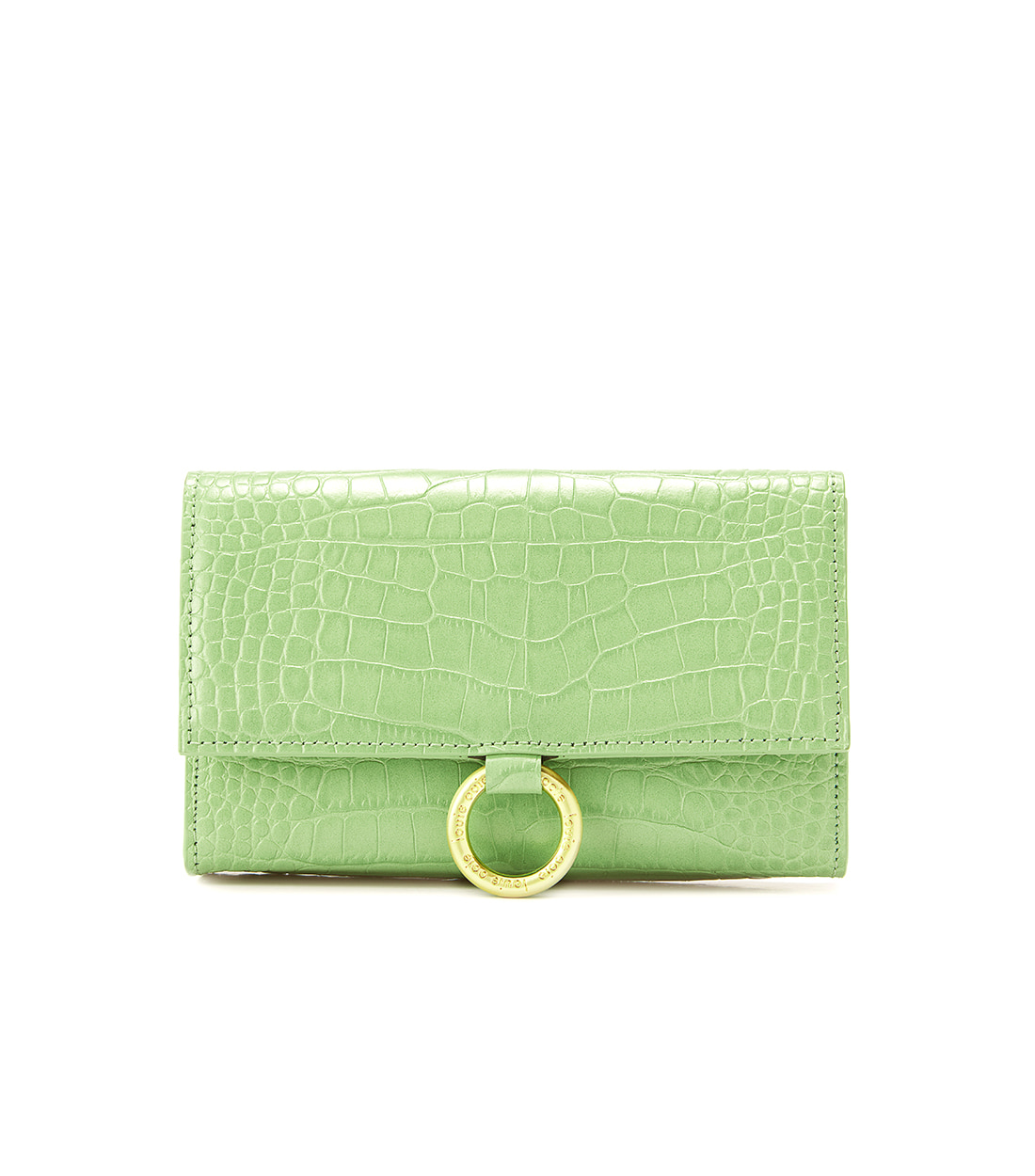 nina bag - lime embo