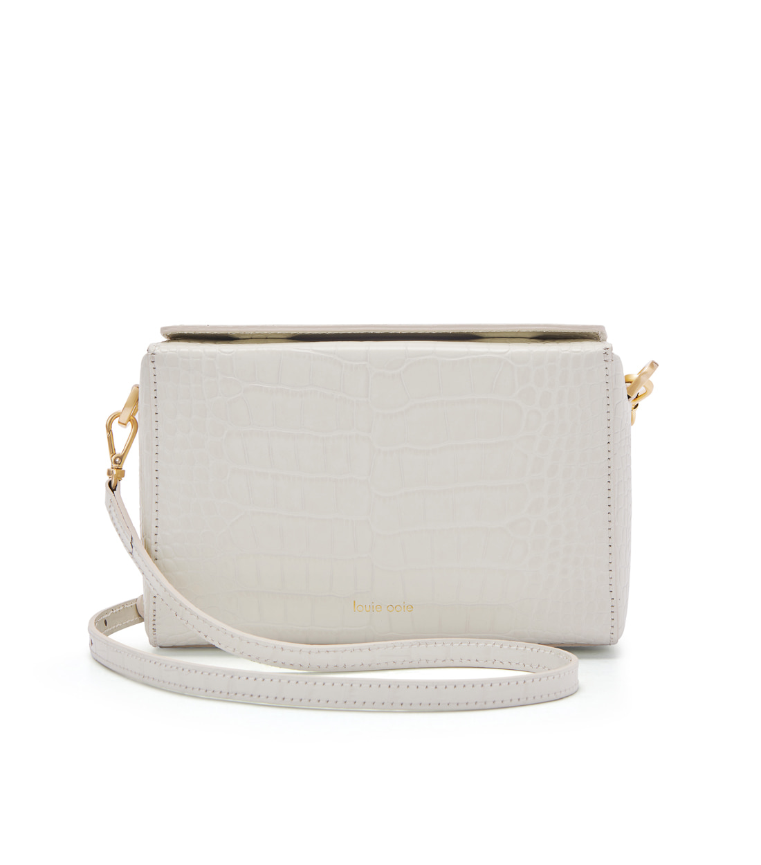 lena bag - ivory embo