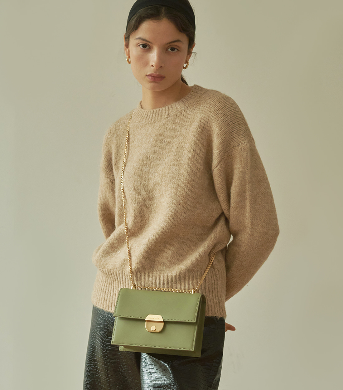 nancy bag - olive [refurb 50%]