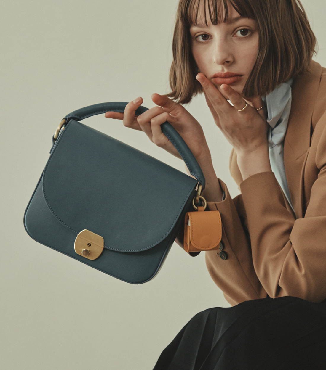 betty bag - steel blue [refurb 50%]