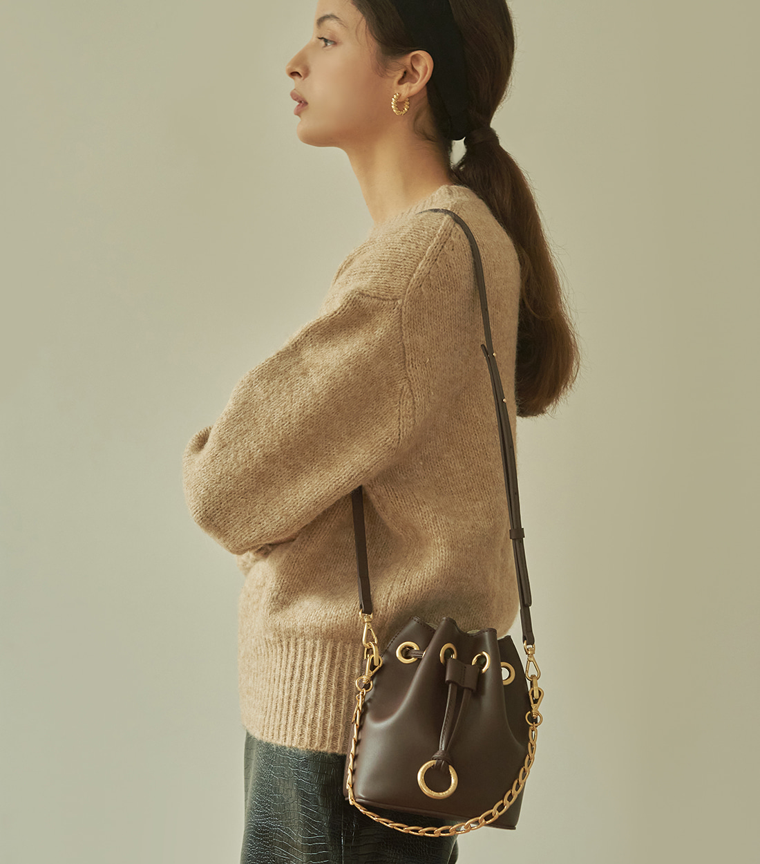 jane bag mini - brown [refurb 50%]