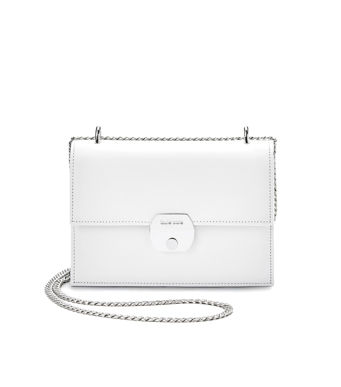 nancy bag - white