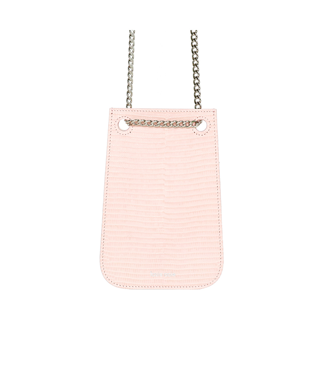 doris bag - pink embo