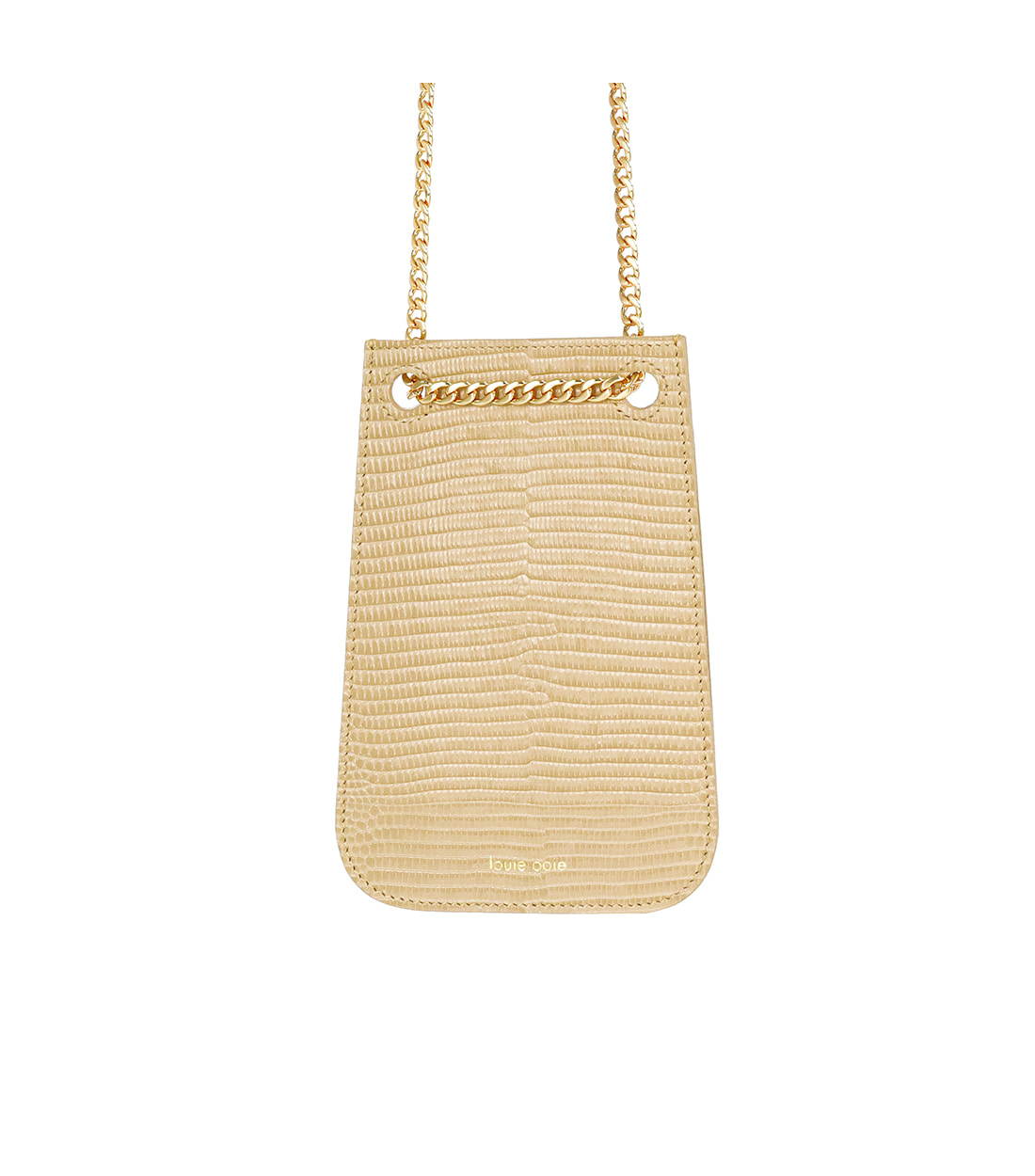 doris bag - beige embo