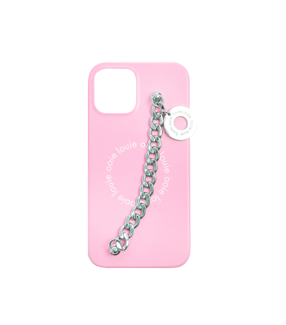 medal chain case - pink